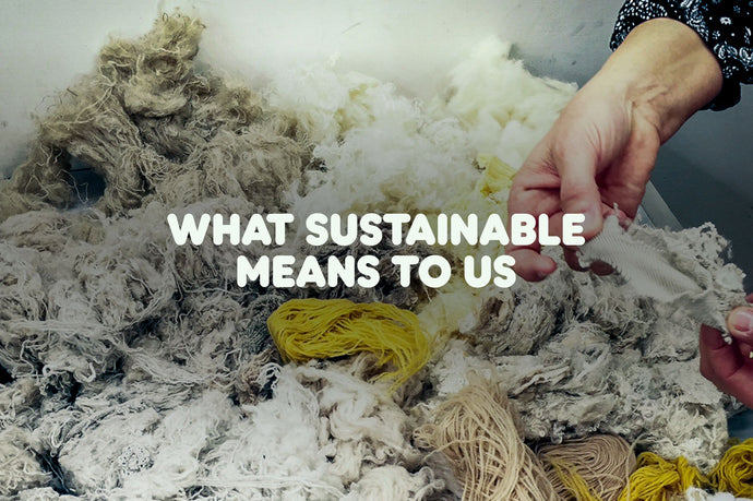 What Sustainability Means to Us
