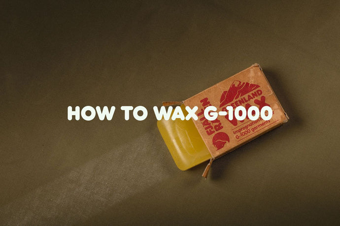 How to Wax G-1000
