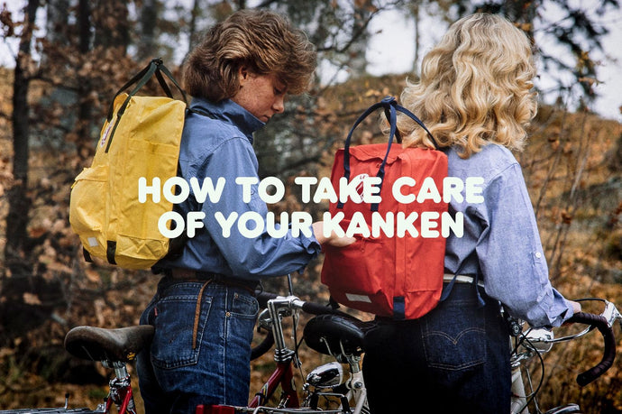 How to Take Care of Your Kanken