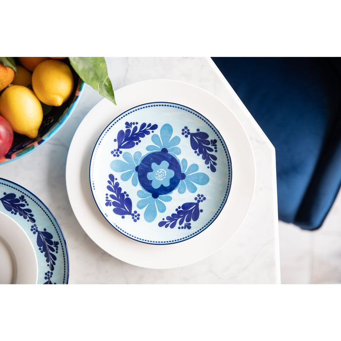 Maxwell & Williams Majolica Side Plate Sky Blue - 20cm