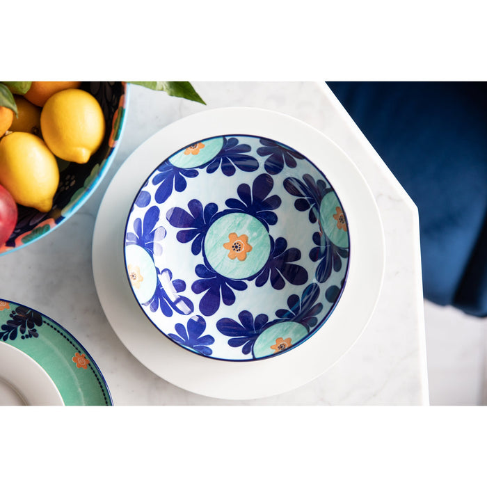 Maxwell & Williams Majolica Coupe Bowl Sky Blue - 20cm