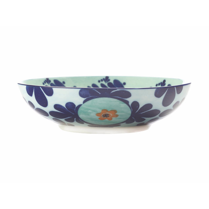 Maxwell & Williams Majolica Coupe Bowl Teal - 20cm