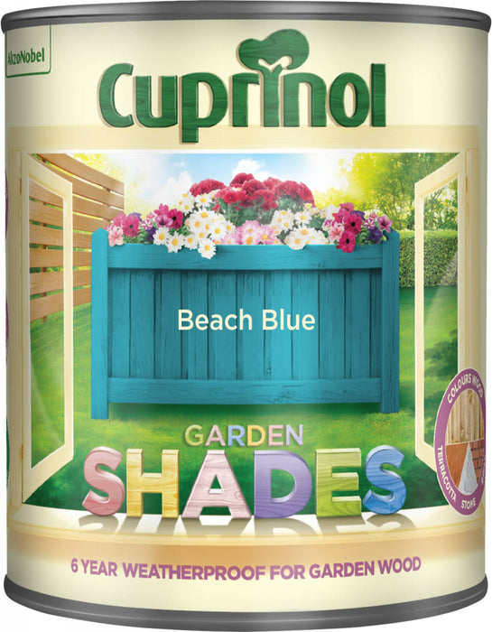 Cuprinol Garden Shades Beach Blue - 1L