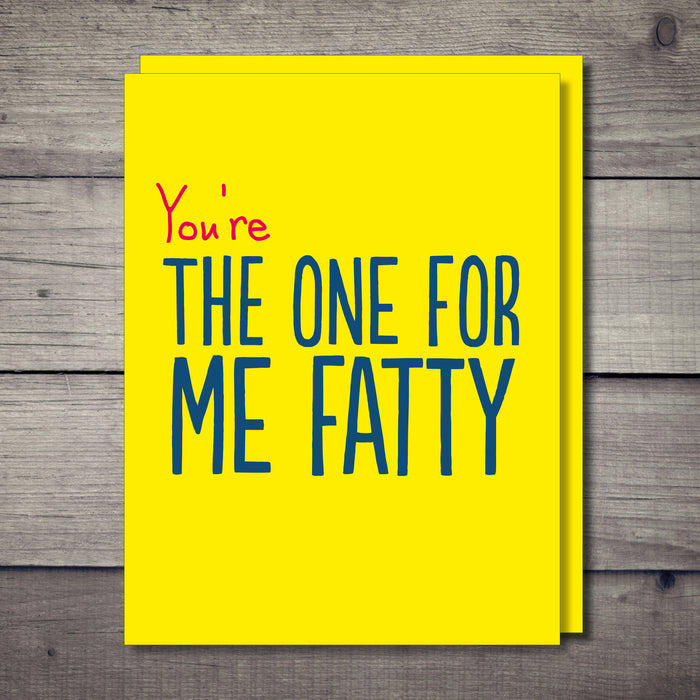 Fatty Rude Card