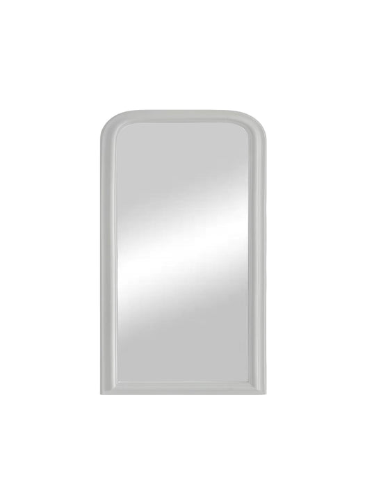 Arched Wall  Mirror White