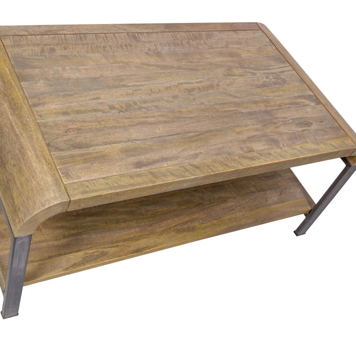 GEOFF Industrial Coffee Table