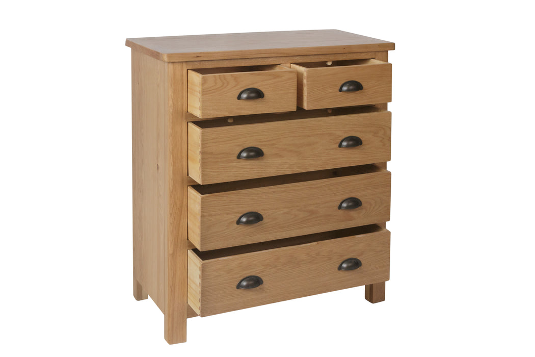 MILAN 2 Over 3 Chest Of Drawers