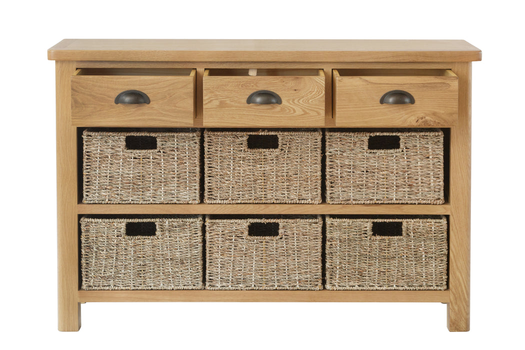 MILAN 9 Drawer Storage Unit