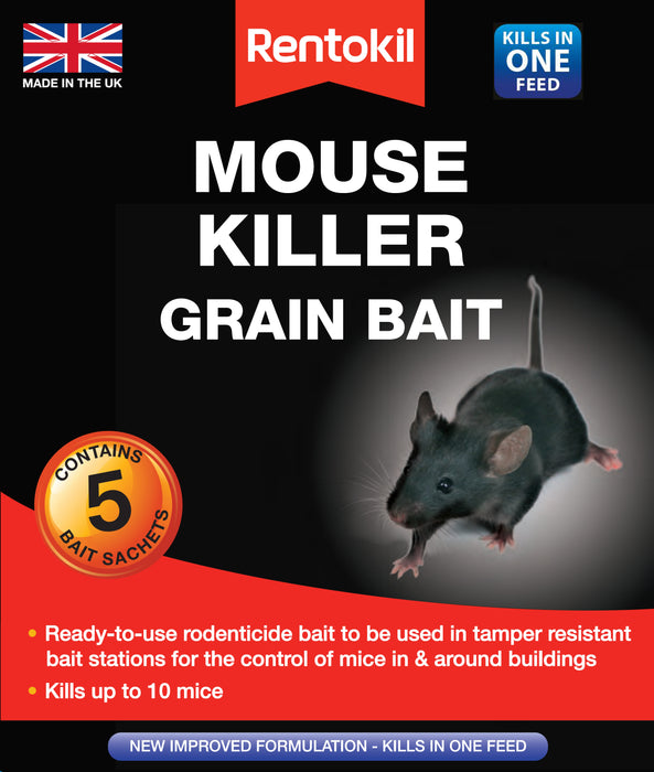 Rentokil Mouse Grain Bait Killer