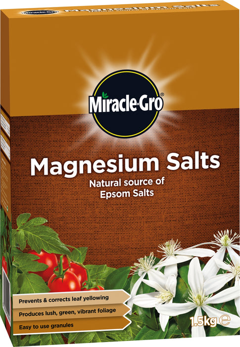 Miracle Gro Magnesium Salts