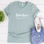 Adventure Awaits - Bella+Canvas Tee