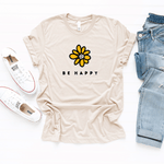 Be Happy - Bella+Canvas Tee