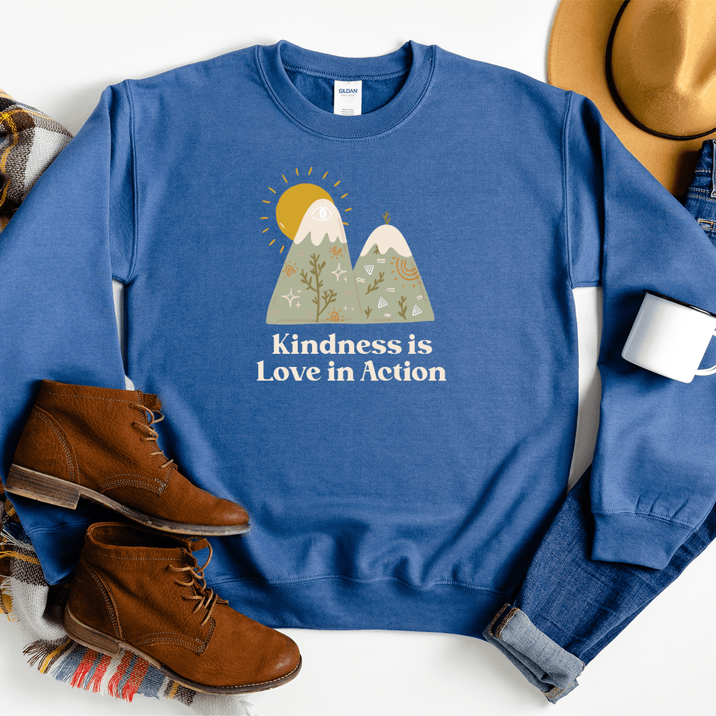 Kindness is Love in Action - Sweatshirt