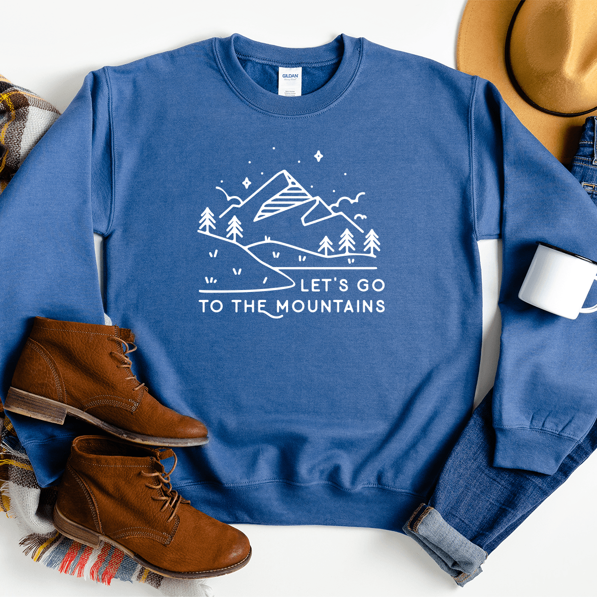 Let's Go To The Mountains - Sweatshirt