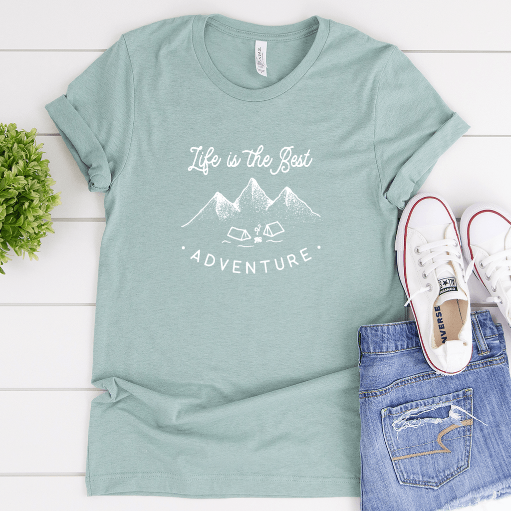 Life Is The Best Adventure - Bella+Canvas Tee