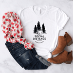 Social Distance Professional - Bella+Canvas Tee