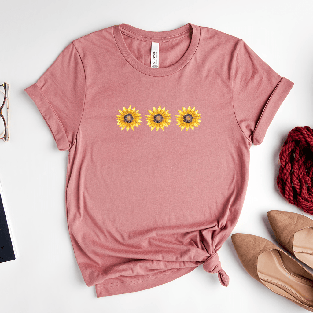 Sunflowers - Bella+Canvas Tee