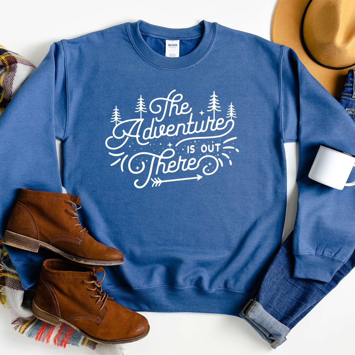 The Adventure Is Out There - Sweatshirt