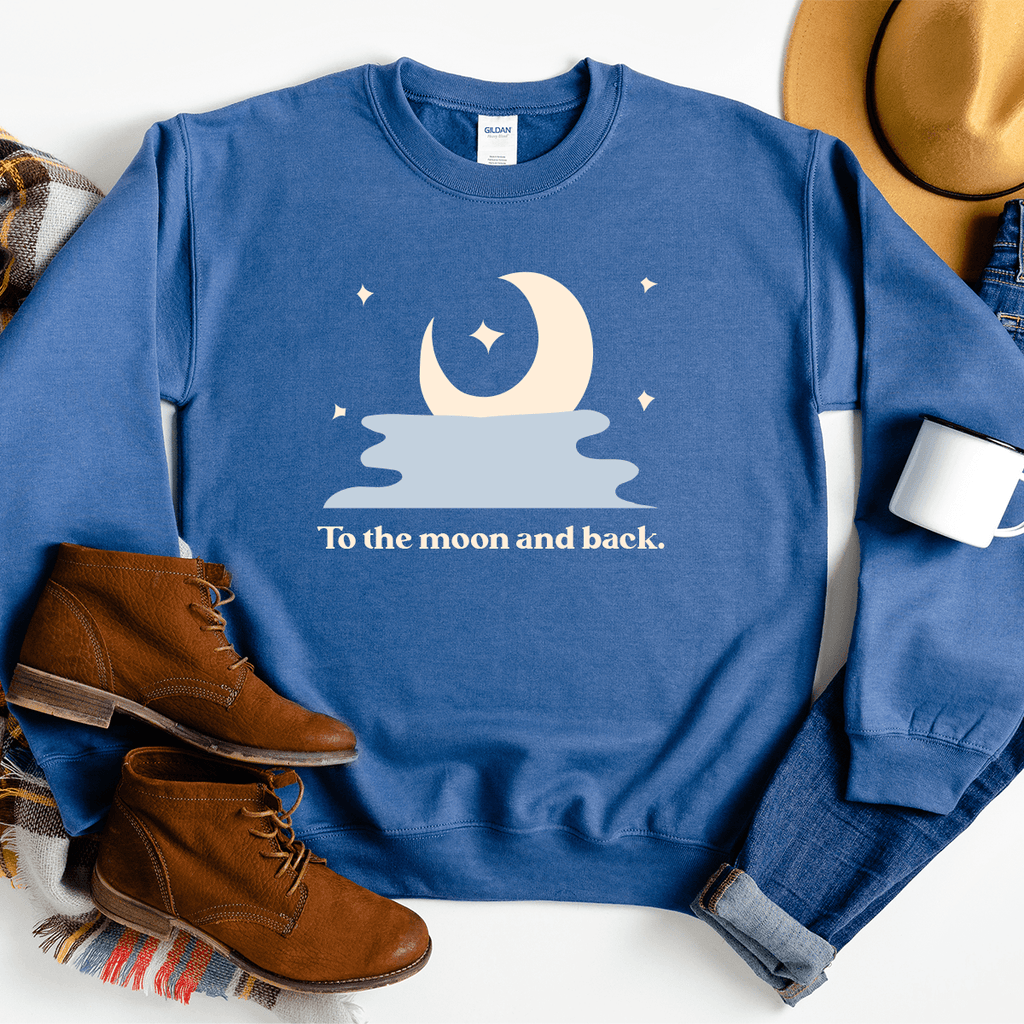 To The Moon And Back - Sweatshirt