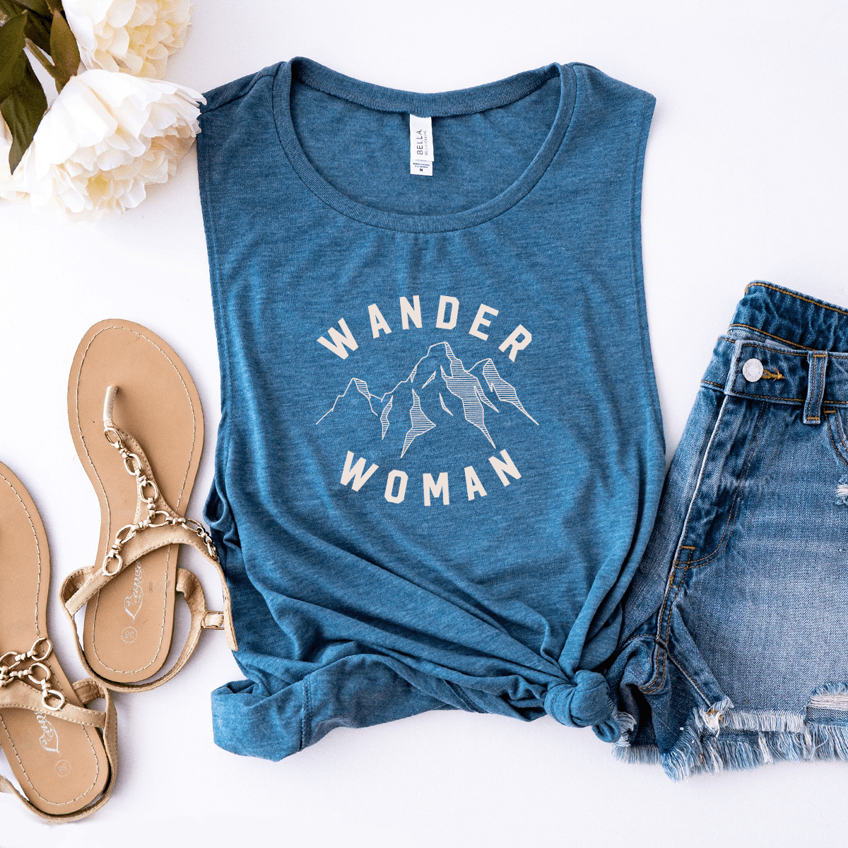 Wander Woman - Bella+Canvas Muscle Tank