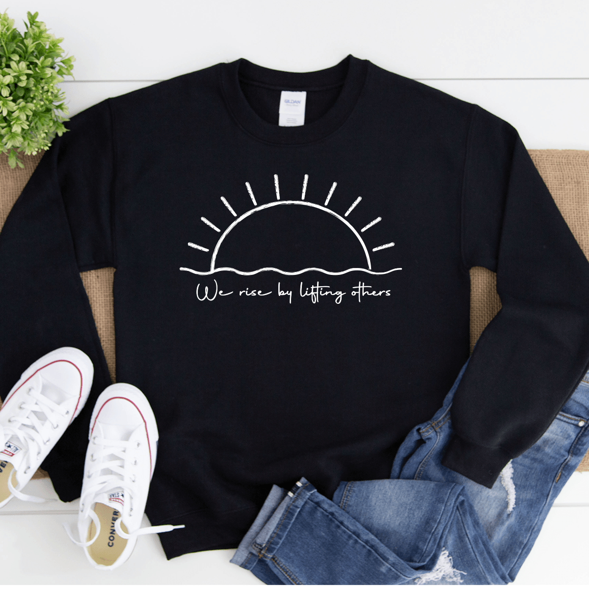 We Rise By Lifting Others - Sweatshirt