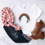 When it Rains, Look for Rainbows - Bella+Canvas Tee