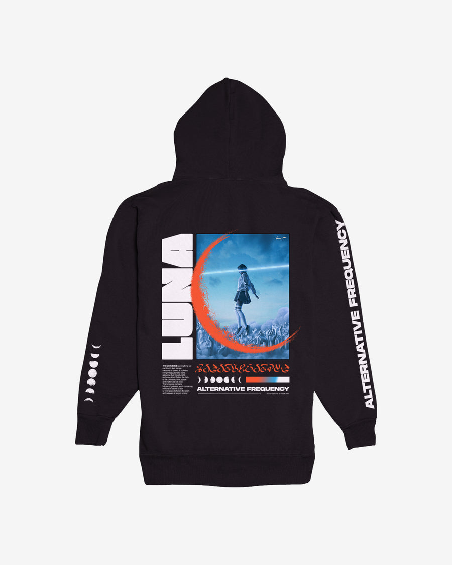 Alternative Frequency Black Hoodie