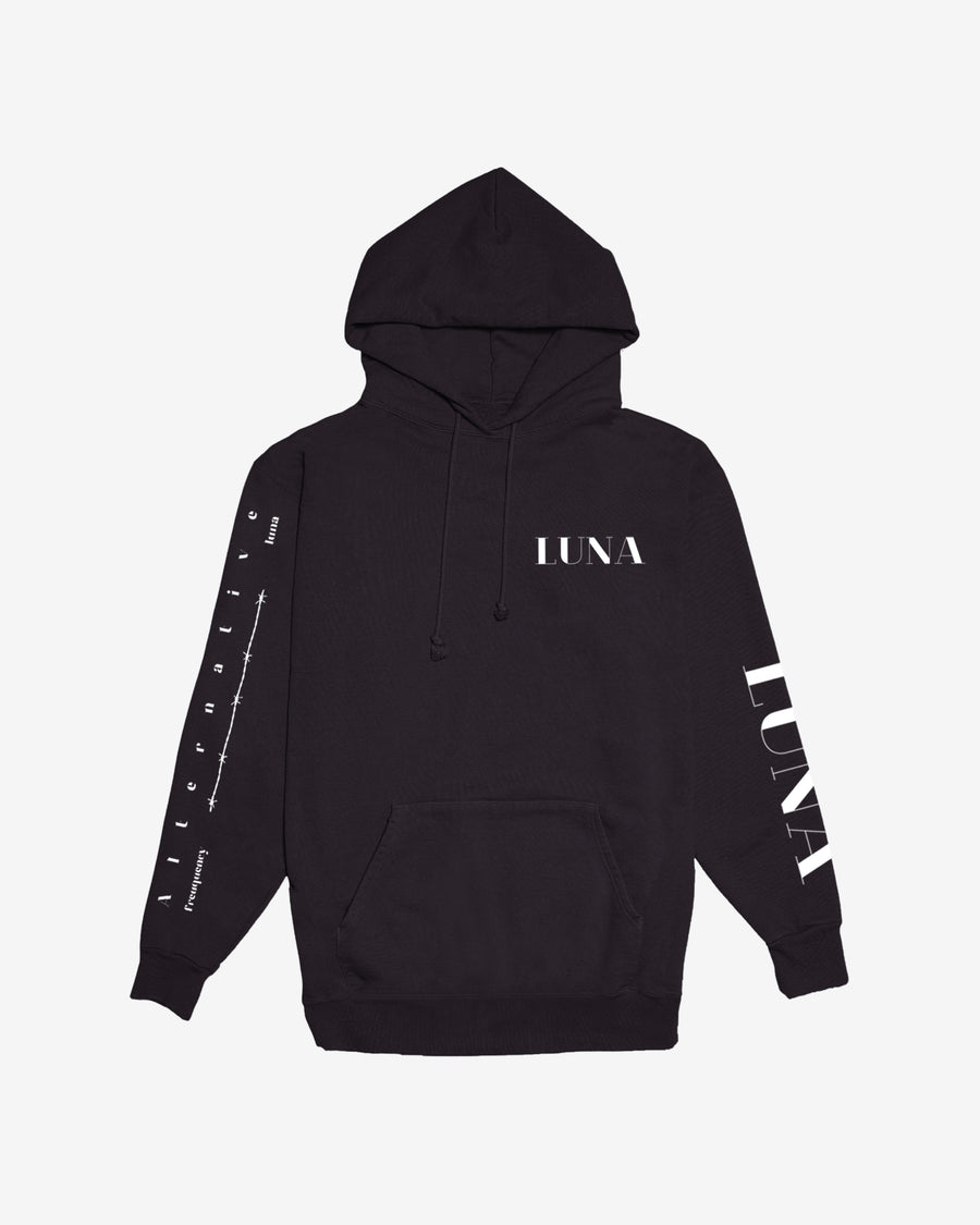 Barbed Rose Black Hoodie
