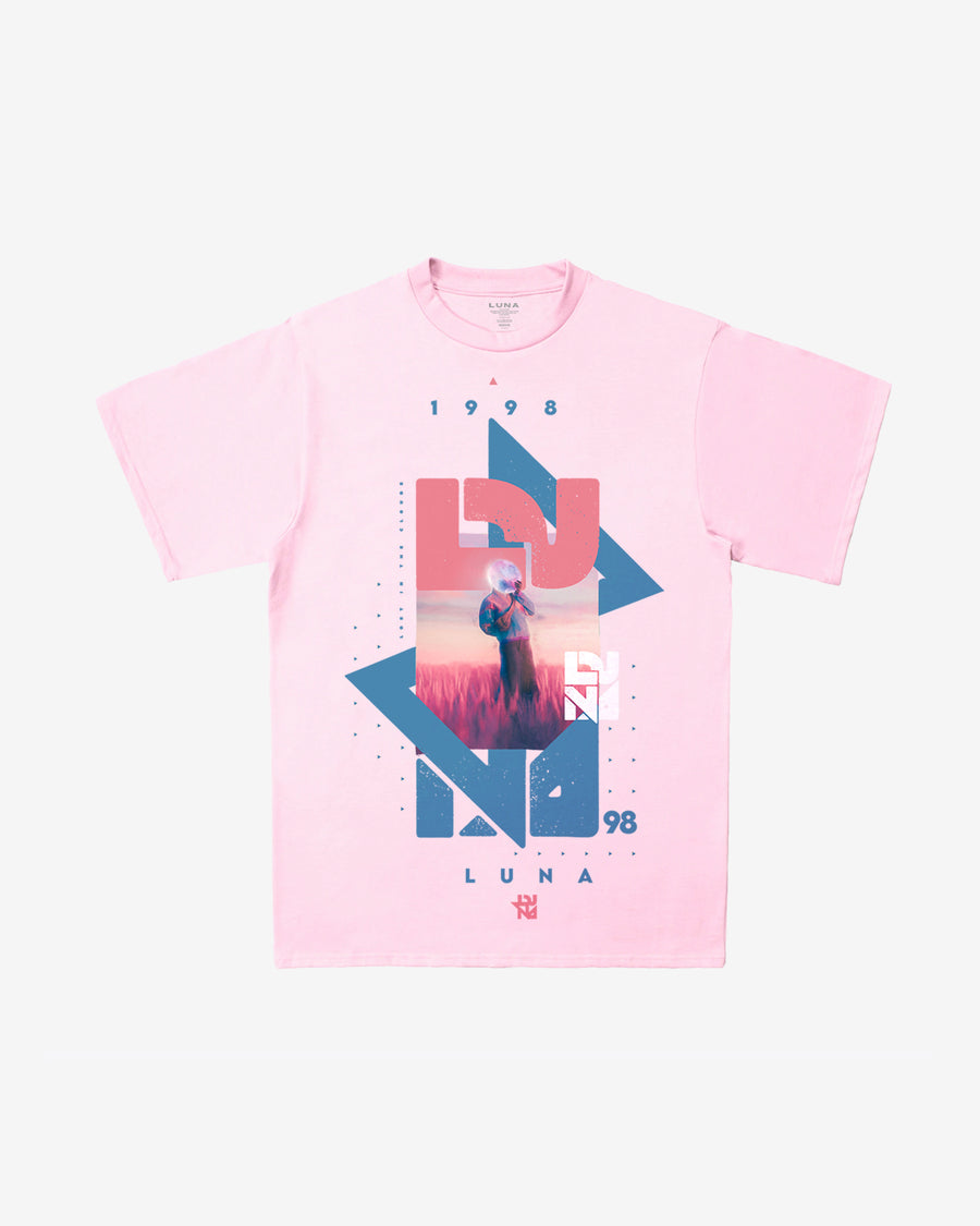 Lost In The Clouds Light Pink Tee