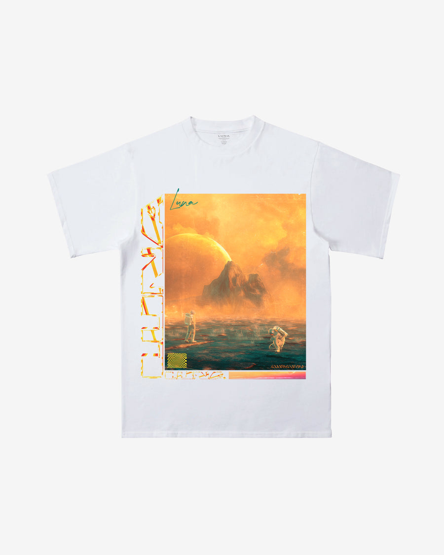 Exploration White Tee