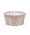 STRIPED HOLLOWED-OUT FRUIT BASKET-PINK