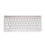 2.4G WIRELESS METAL KEYBOARD - SILVER