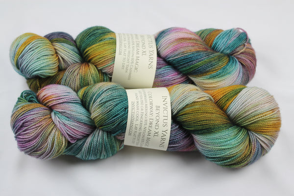 Dream Magic Beyond XL MCN fingering weight extra length yarn