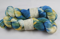 Starry Poetry merino/silk fingering weight yarn