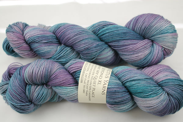 My Quiet Place Beyond XL MCN fingering weight extra length yarn