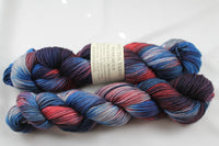 The Rooster Crowed At Midnight Wondrous DK MCN hand dyed yarn