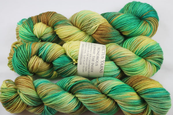 The Inside Wondrous DK MCN hand dyed yarn