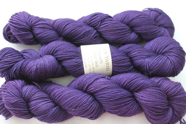 Iris Assimilate Merino/Yak/Nylon fingering weight yarn