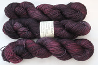 Ruby Reward 80/20 merino/silk fingering weight sock yarn