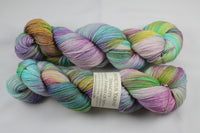 Fairies of Fryham Tenacity 80/20 merino/silk fingering weight yarn shawl length skein extra length