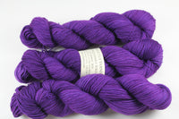 Iris Unconquerable Sole BFL SW BFL/nylon fingering weight sock yarn