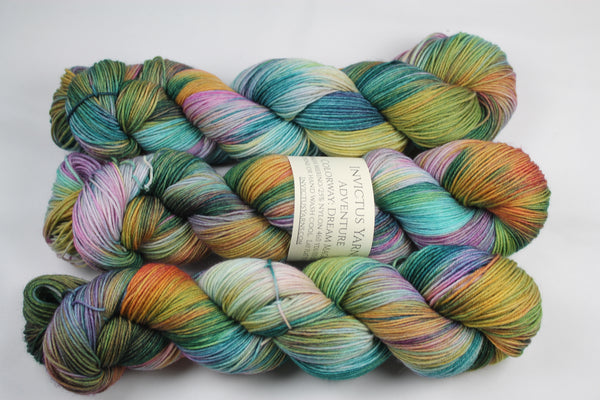 Dream Magic Adventure merino/nylon sock yarn