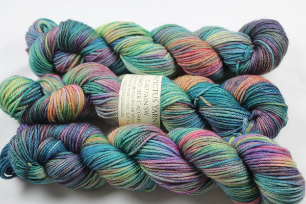 Brother Cadfael's Garden Captain SW 100% superwash merino worsted yarn