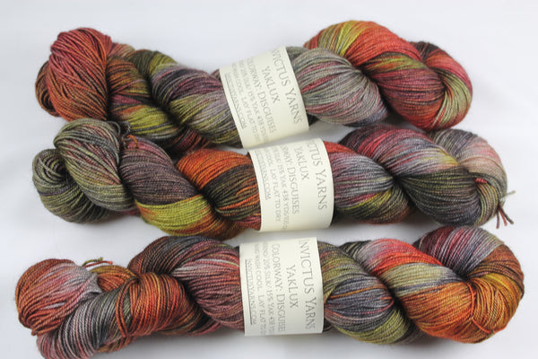 Disguises YakLux Merino/Silk/Yak fingering weight yarn