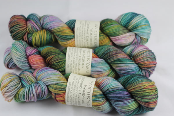 Dream Magic Wondrous DK MCN hand dyed yarn