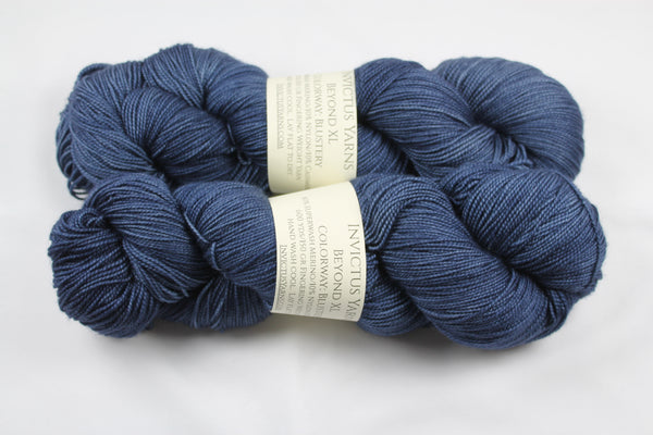 Blustery Beyond XL MCN fingering weight extra length yarn
