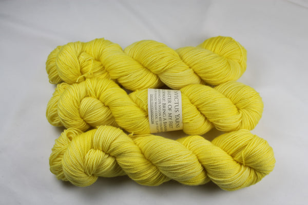 Bring A Banana Master of My Feet merino/nylon fingering weight sock yarn