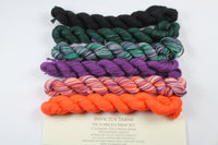 Halloween Minis Set Victorious fingering weight yarn