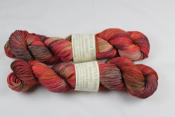 Ember Seraphic 70/10/20 MCS fingering weight sock yarn