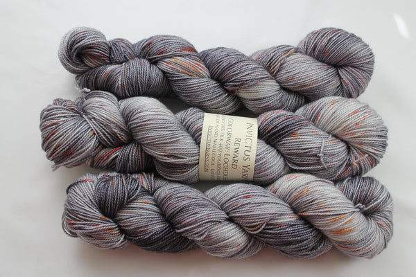 Lochdubh Reward merino/silk sock yarn fingering weight sock yarn